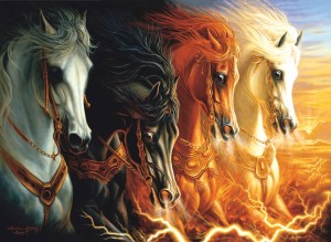 four horses of apocolypse