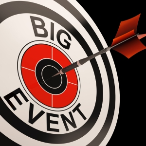 Big Event Target Shows Celebrations And Parties