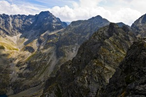 High Polish Tatra mountains