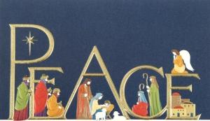 Christmas Card Pea e
